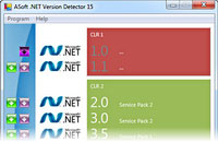 ASoft .NET Version Detector